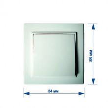 Выключатель RIGHT HAUSEN KIRA 1-й внутренний белый HN-016011