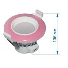 АКЦИЯ Светильник встраиваемый LED PANEL RIGHT HAUSEN TONE  6W 4000K розовый HN-232703