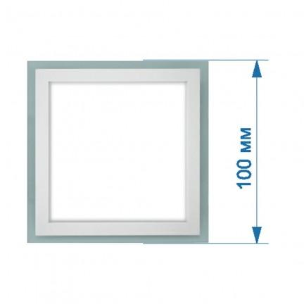 Светильник LED PANEL RIGHT HAUSEN квадрат GLASS (стеклянный) 6W 4000K