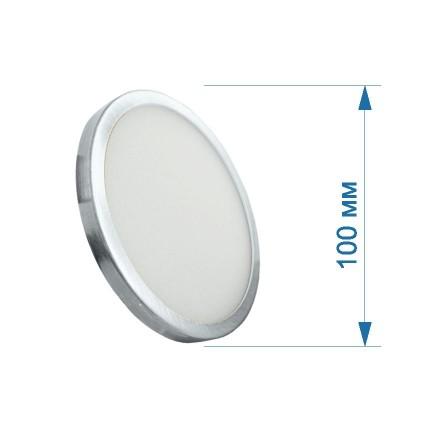 АКЦИЯ Светильник LED PANEL RIGHT HAUSEN круг SLIM 6W 4000K IP20 хром