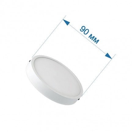 Светильник накладной LED PANEL RIGHT HAUSEN круг SLIM  6W 4000K