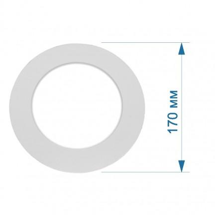 Светильник LED PANEL RIGHT HAUSEN круг SIMPLE 12W 4000K IP20