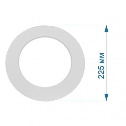 Светильник LED PANEL RIGHT HAUSEN круг SIMPLE  18W 4000K IP20