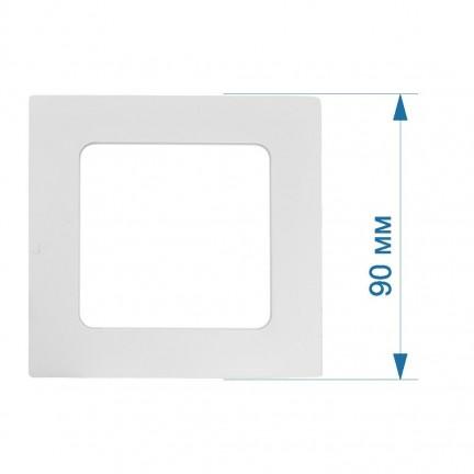 Светильник LED PANEL RIGHT HAUSEN квадрат SIMPLE  3W 4000K IP20