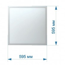 Светильник встраиваемый LED PANEL RIGHT HAUSEN STANDARD квадрат 595х595 36W 5400K IP20