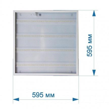 Светильник универсальный LED PANEL RIGHT HAUSEN GRILL квадрат 595х595 72W 6500K IP20 HN-221052 NEW