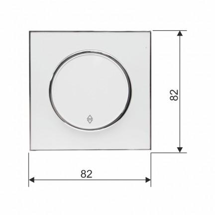 Выключатель RIGHT HAUSEN LAURA 1-й внутренний проходной HN-015031