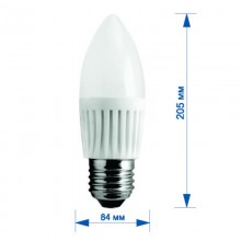 Лампа RIGHT HAUSEN LED Platinum СВ. 9W E27 4000K, G45  HN-284040