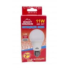 Лампа RIGHT HAUSEN LED Standard A60 11W E27 4000K HN-151010