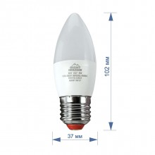 Лампа RIGHT HAUSEN LED Standard СВЕЧА 5W E27 2700K  HN-154021