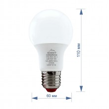Лампа RIGHT HAUSEN LED Standard A60  9W E27 2700K  HN-151021