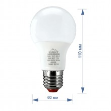 Лампа RIGHT HAUSEN LED Standard A60  7W E27 4000K  HN-151030