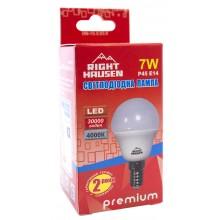 Лампа RIGHT HAUSEN LED Standard ШАР 7W E14 4000K G45 HN-155030