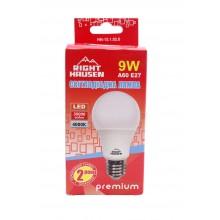 Лампа RIGHT HAUSEN LED Standard A60 9W E27 4000K HN-151020