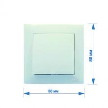Выключатель RIGHT HAUSEN VELENA 1-й внутренний белый HN-011011