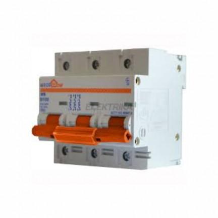 Автоматический выключатель ECO MB 3p D100A ECOHOME АСКО