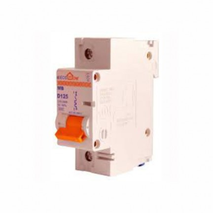 Автоматический выключатель ECO MB 1P D 100A ECOHOME АСКО