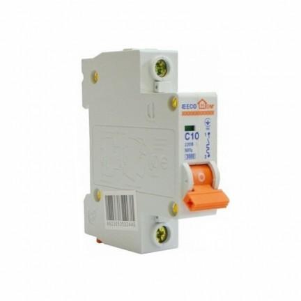 Автоматический выключатель ECO 1p 10A ECOHOME АСКО