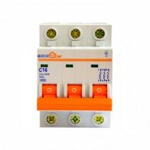 Автоматический выключатель ECO 3p 16A ECOHOME АСКО