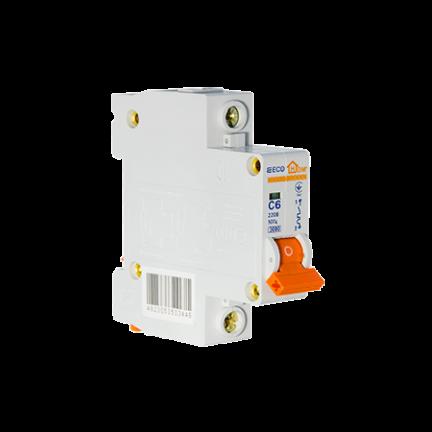 Автоматический выключатель ECO 1P 6A ECOHOME