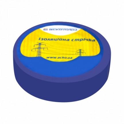 Изолента  0,13 мм х 19 мм / 10 м (синяя)  АСКО