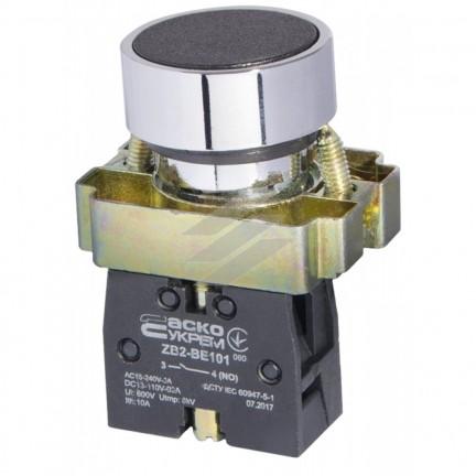 Кнопка XB2-BA21 Старт черная АСКО
