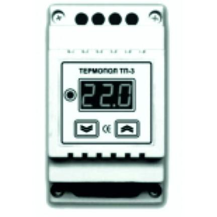 Терморегулятор на DIN-рейку ТП-3