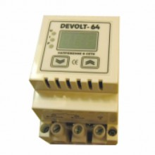 Устройство защиты на DIN-рейку для однофазной сети 220В Devolt 64