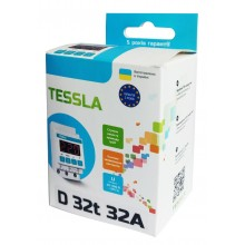 Реле напряжения TESSLA  D32 термозащита