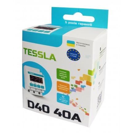 Реле напряжения TESSLA D40