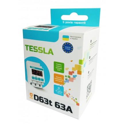 Реле напряжения TESSLA  D63 термозащита