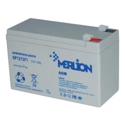 Аккумулятор MERLION 12V 7,2 Ah NEW