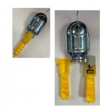 Светильник гаражный без шнура металл (факел с выключателем)