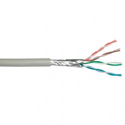 Провод компьютерный FTP Cat.5E 4PR CU (100 МГц) PVC Indoor (100 м) Dialan