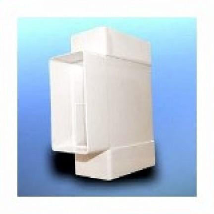 Тройник плоский D/TP 110х55 (007-0227)