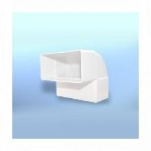 Колено плоское D/KPI 110х55 (007-0222)