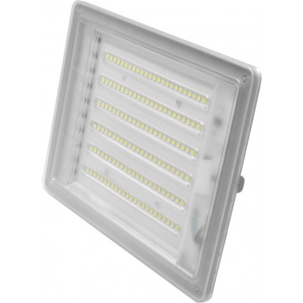 Прожектор Ecostrum LED Farutti Slim 100W 8000 lum 6500K серый
