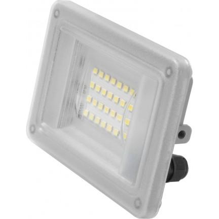 Прожектор Ecostrum LED Farutti Slim 20W 1600 Lm 6500K серый