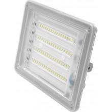 Прожектор Ecostrum LED Farutti Slim 50W 4000 lum 6500K серый