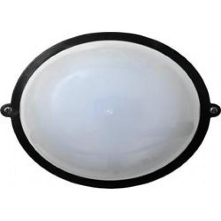 Светильник настенный Ecostrum 60W Е27 круг черный SL-1002
