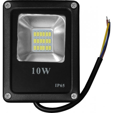 Прожектор Ecostrum LED 10W UA 1000/6500/IC черный UALED10-1000/6500/IC черный