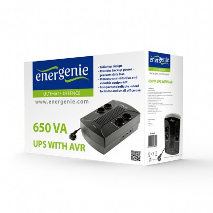 Автоматический регулятор напряжения EnerGenie EG-AVR-D1000-01, 220В, 1000 ВА