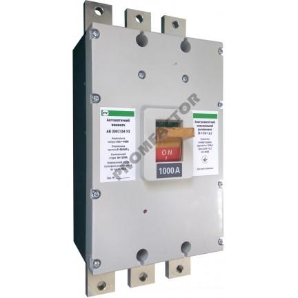 Автоматический выключатель АВ3007/3H 3-5In 3P In=800A