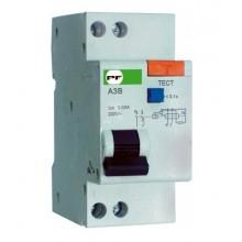 Автомат защитного отключения ПФ стандарт АЗВ-2 2Р 16А/0,03мА