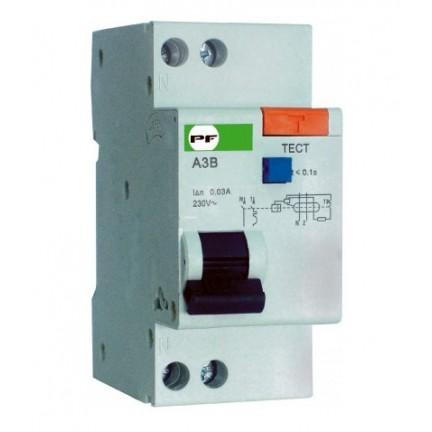 Автомат защитного отключения ПФ стандарт АЗВ-2 2Р 40А/0,03 мА