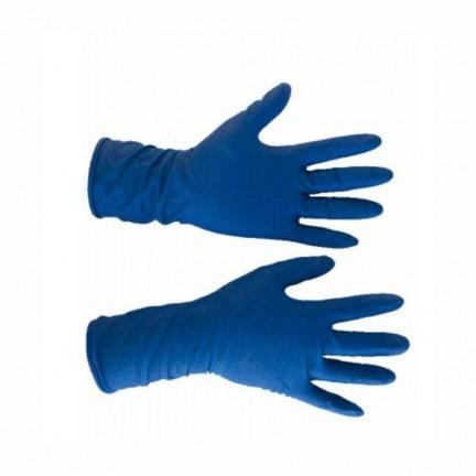 Перчатка медицинская  синяя  (амбулатория) S