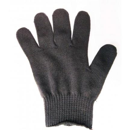 """Перчатки """"NEW"""" черные синтетика снаружи хлопок в середине"""