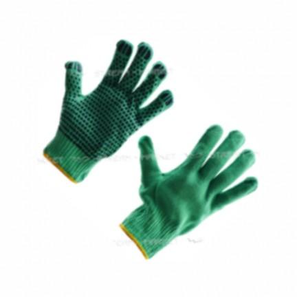Перчатки синтетические  зеленые