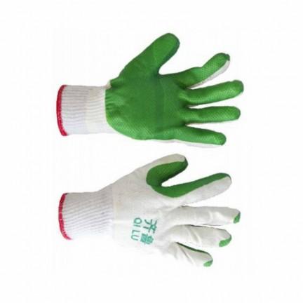 Перчатка стекло зеленые