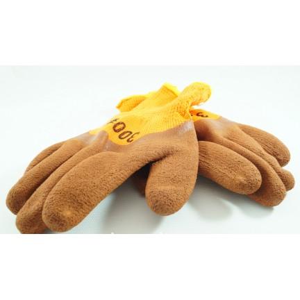 Перчатки пена коричневая 300#